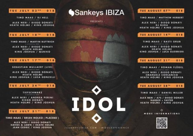 Idol with Timo Maas Sankeys