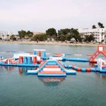 Ocean Mania Ibiza the water wipe out course located in San Antonio