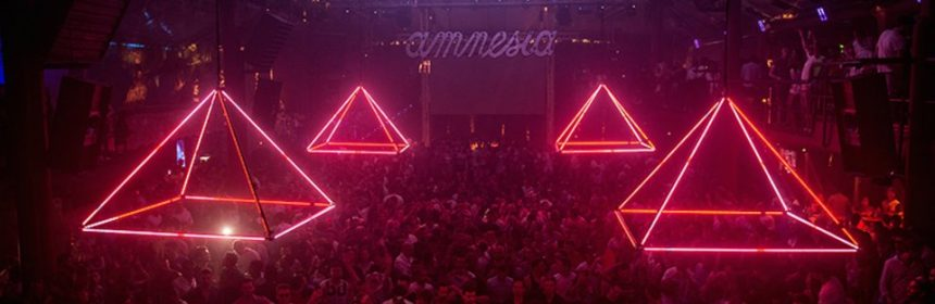 Pyramid Amnesia Ibiza is all about the music and dancing till sunrise