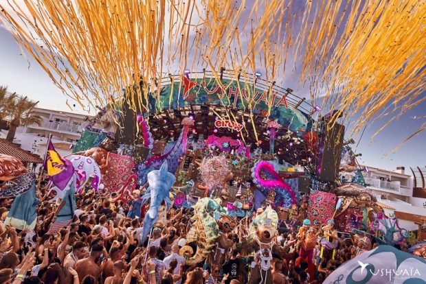 Returning for more outdoor craziness this summer is Elrow at Ushuaia for four exclusive dates on Wednesday the 17th July 7th & 21st August and the 18th September.