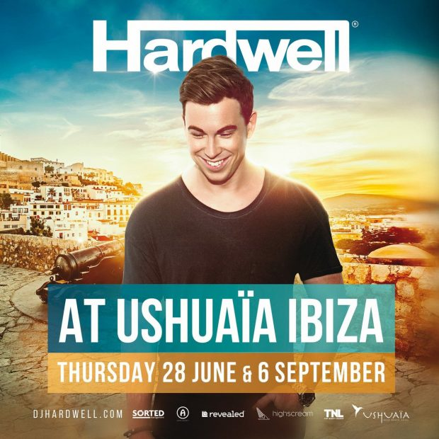 Hardwell at Ushuaia 2018 on the 28th June & 6th September