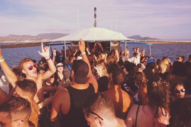 Reverb Boat Party San Antonio on Wednesday this summer