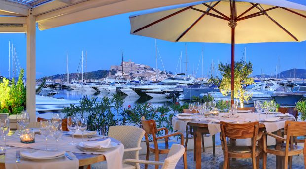 Trattoria del Mar Italian perfection in Marina Botafoch Ibiza