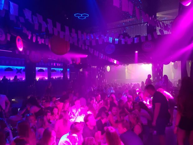 Bongos Bingo at eden Ibiza, Bingo like you have never seen it before
