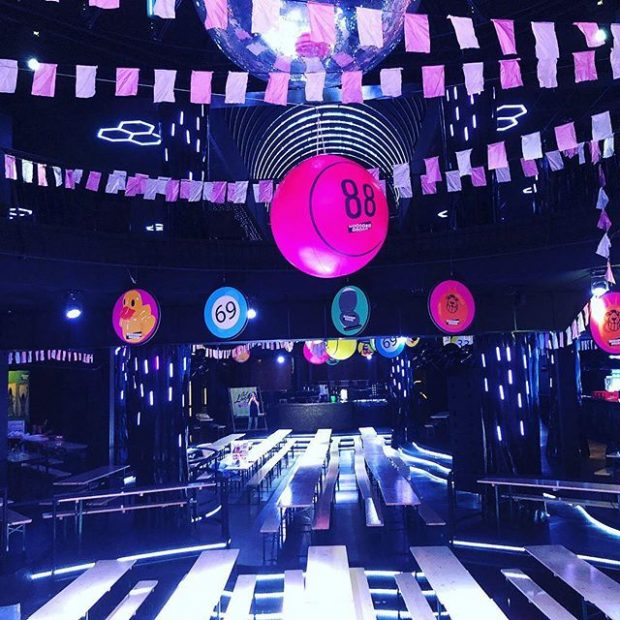 Super club Eden Ibiza has never looked like this before all ready for Bongos Bingo