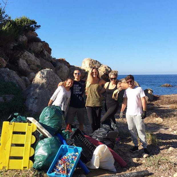 Love Ibiza Now promoting a more environmentally friendly island with beach cleans and other campaigns