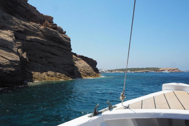 A boat trip in Ibiza shows there is so much more ot the island than just partying