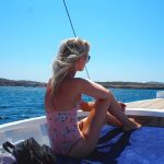Sailing around the waters of Ibiza