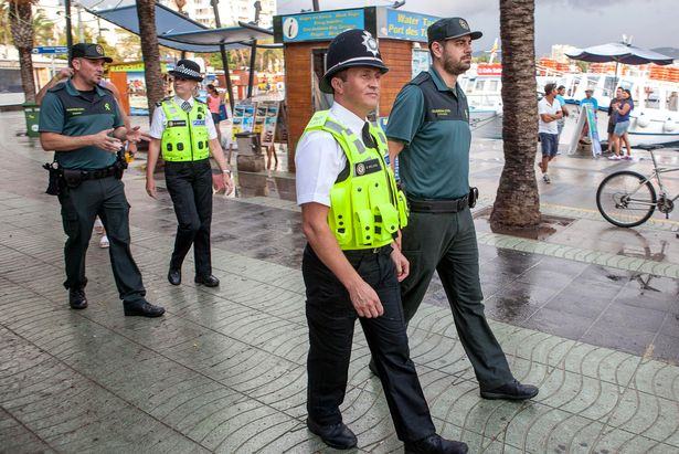 The last time the British police patrolled Ibiza was in 2015