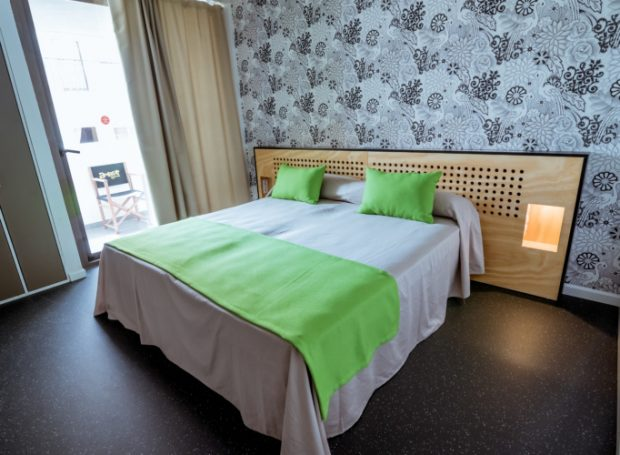 One of the private rooms at Amistat Ibiza