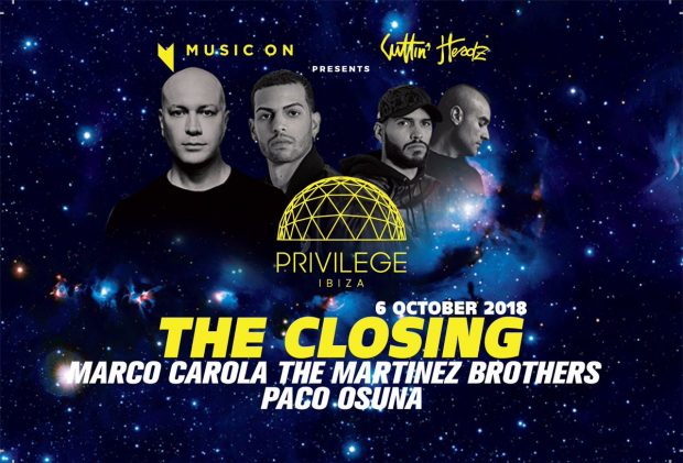 Privilege Closing Party with Music On 6th October 2018