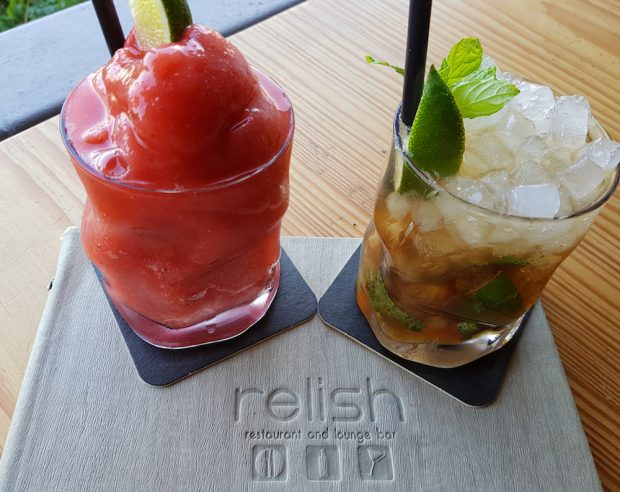 Relish Ibiza cocktails are the perfect accompaniment to any meal