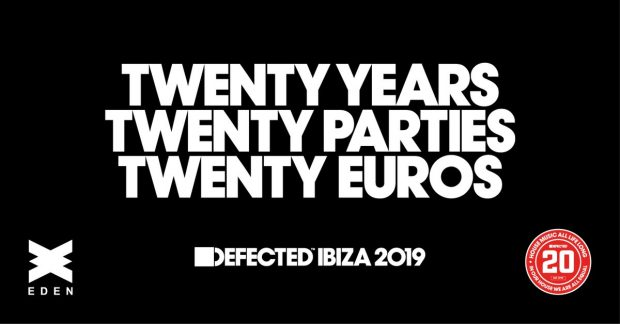 Defected return to Eden Ibiza for 2019