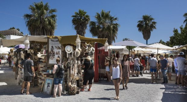 las dalias winter market Ibiza