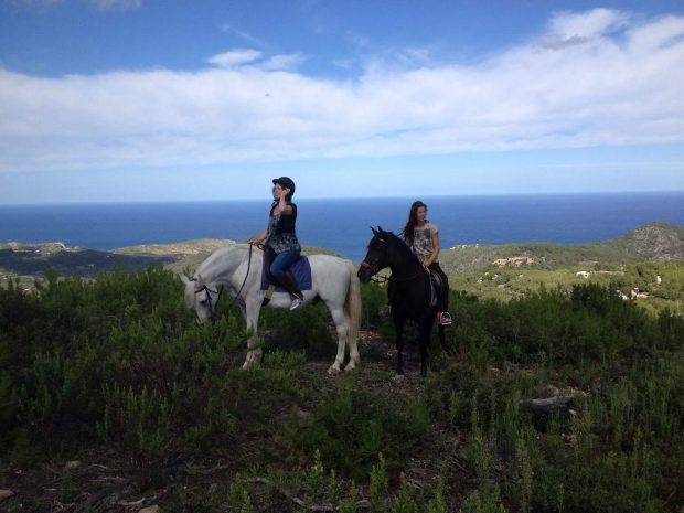 Exploring Ibiza by horseback during the winter months