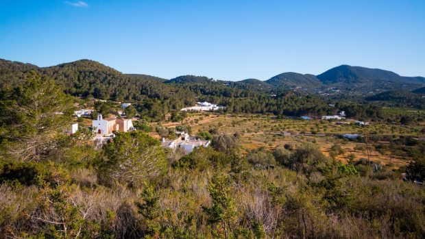 The incredible countryside around San Joan Ibiza