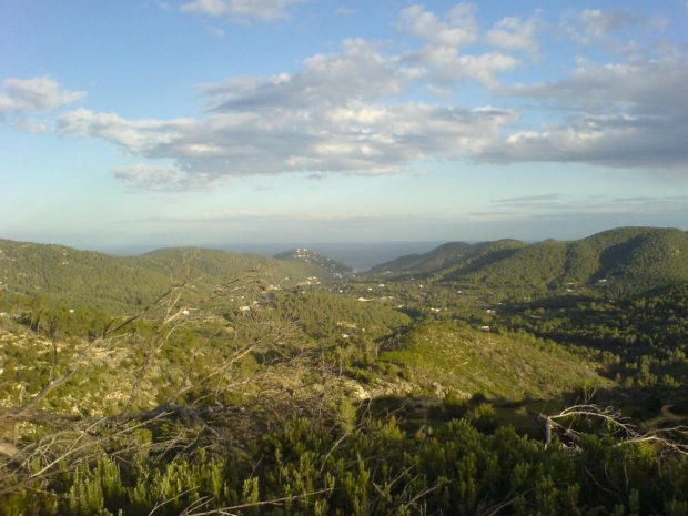 The spectacular unspoilt north of Ibiza from Horseback