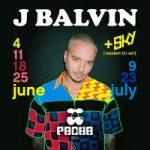 J Balvin Pacha Ibiza 2019