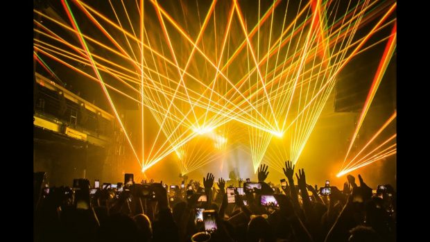Laserface Gareth Emery Amnesia Ibiza on the 8th September 2019