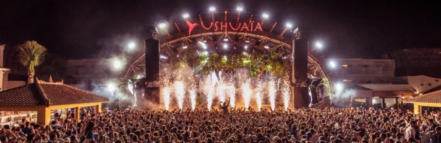 Ushuaia Ibiza closing party 2019 Saturday 5th October