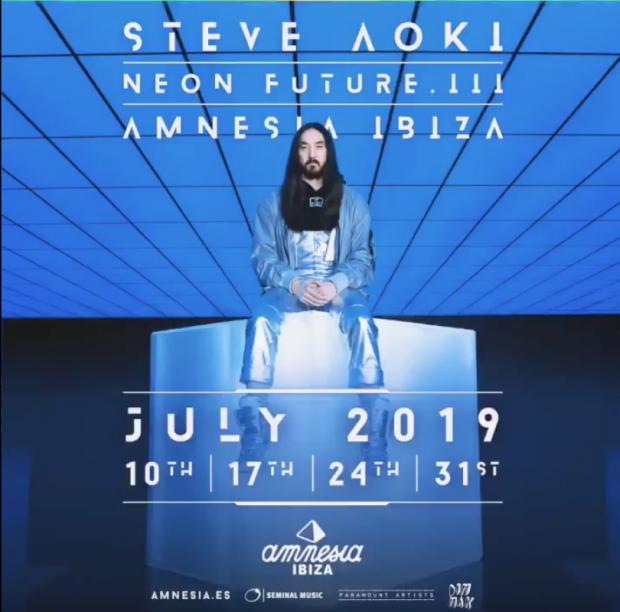 Steve Aoki Amnesia Ibiza
