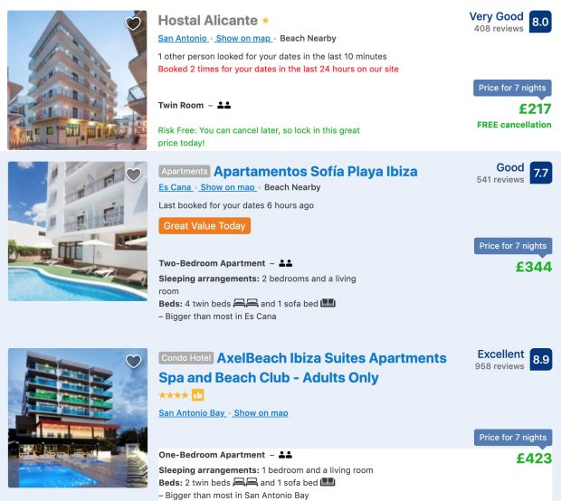 Early May deals in Ibiza are exceptionally good value