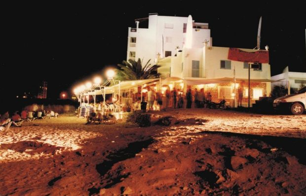 Cafe Mambo Ibiza in its early days