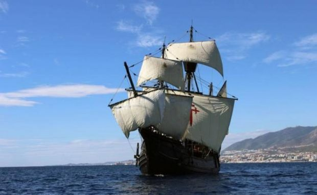 Tall Ship Nao Victoria the first to circumnavigate the world