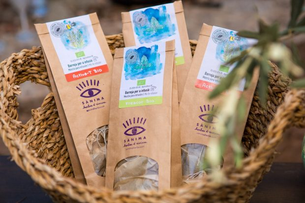 Herbal teas from Sanima Herbs Ibiza