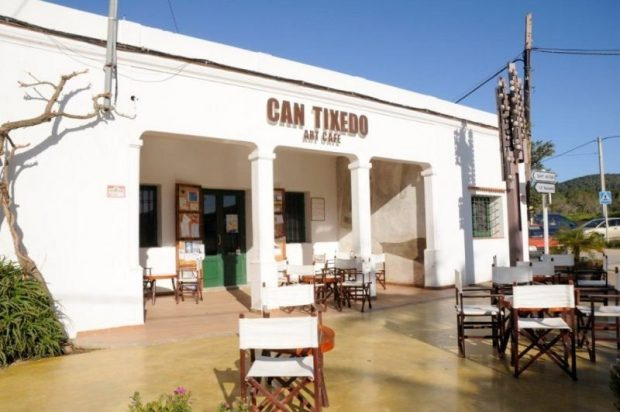 Can Tixedò Art Cafe at the crossroads of Buscastell Ibiza