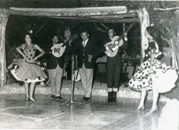 The early days of Las Dalias Ibiza