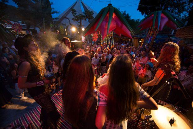 Namaste on Wednesday's at Las Dalias Ibiza