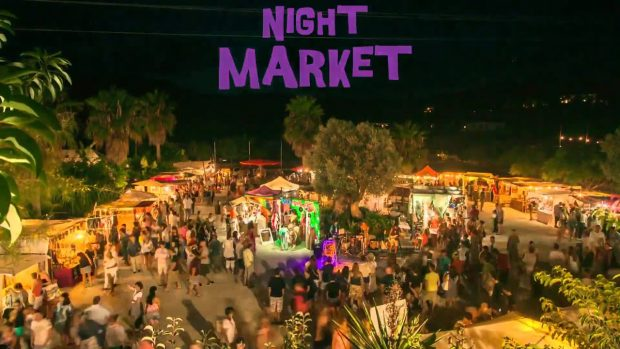 Las Dalias Ibiza night Market