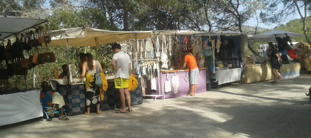 Hippy Market at Portinatx Ibiza