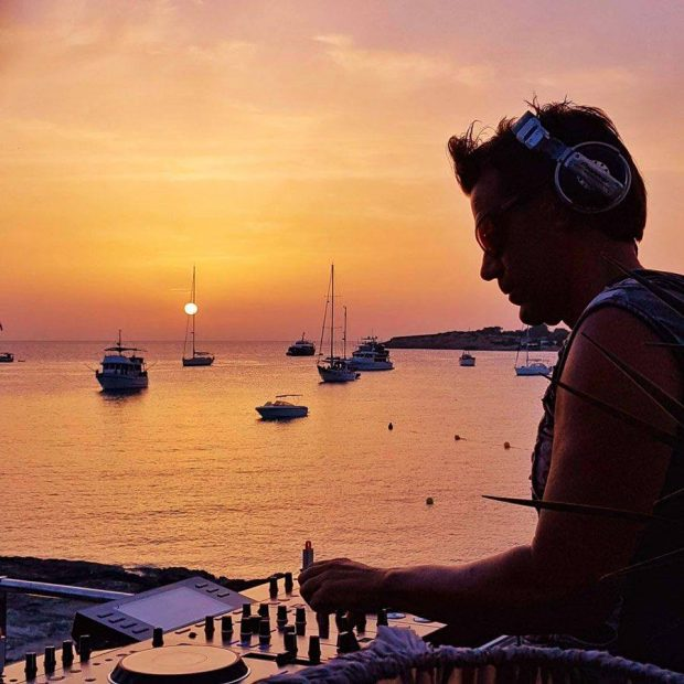 The Ibiza sunset is a real treat from Kasbah Ibiza