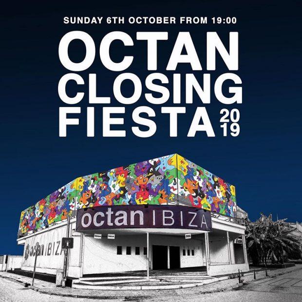 Octan Ibiza Closing Fiesta 6th October 2019