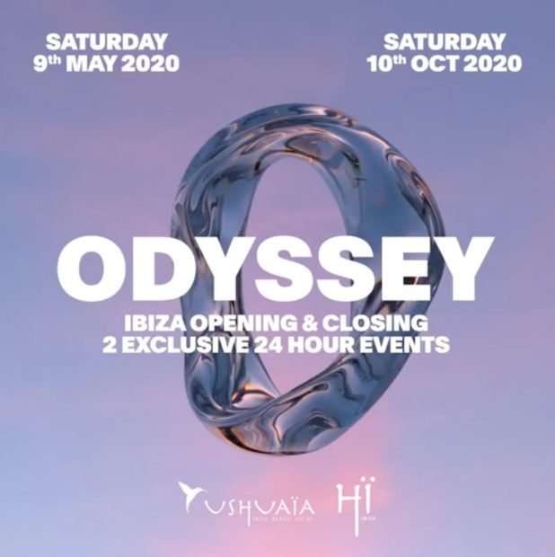 Hï Ibiza Closing Party - Odyssey