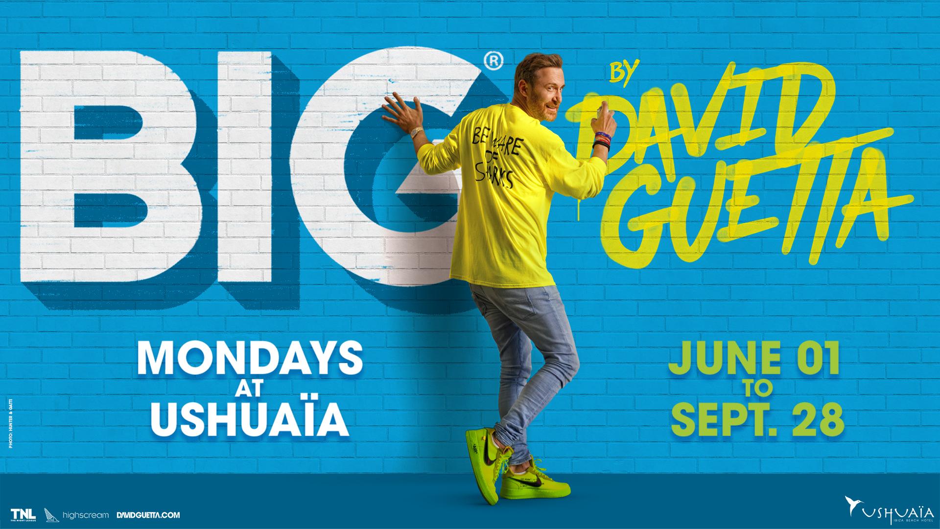 BIG David Guetta Ushuaïa Ibiza 2020