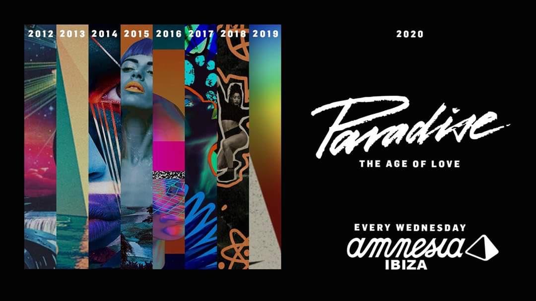 Paradise Amnesia Ibiza 2020