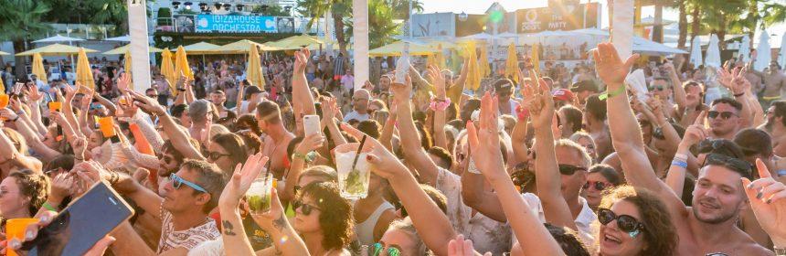 Boat Club O beach Ibiza 2020