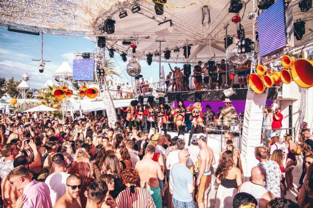 The White Island Orchestra O Beach Ibiza 2020